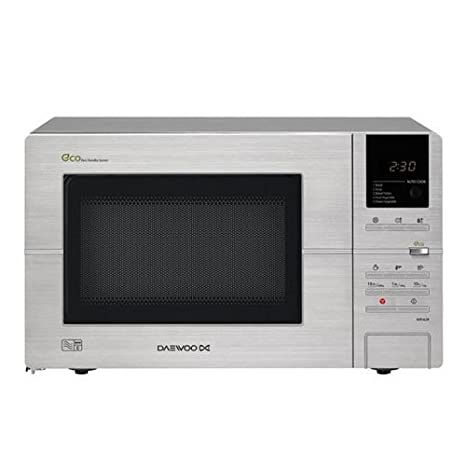 Daewoo KOR6L5R Microwave, 20 Litre, 800 Watt, Digital ECO ...