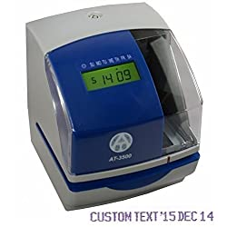 AT-3500 Heavy Duty Multifunction Time Clock and Time/Date/Number Stamp