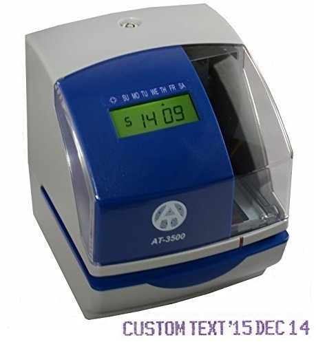 (AT-3500 Heavy Duty Multifunction Time/Date/Number Stamp)