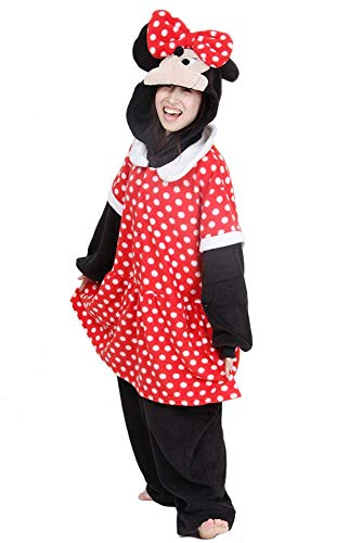 Mickey & Minnie Mouse Onesie Costume for Adults and -