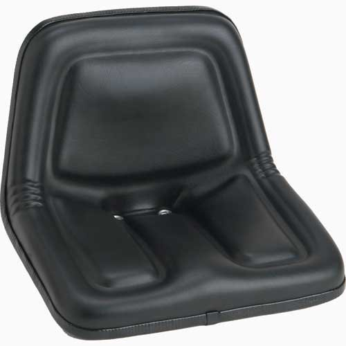 Bucket Seat Deluxe High Back Vinyl Black Case Gehl John Deere Kubota New Holland L454 L455 4475 L35 L778 L445 L425 B7300 L250 L325 L125 L120 3825 LS125 3375 3510 3310 MG861683 by All States Ag Parts