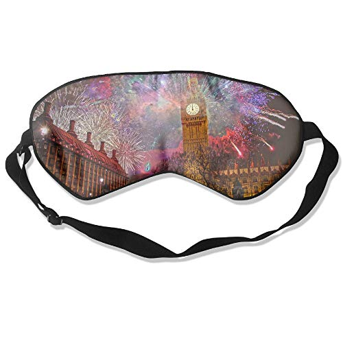 WUGOU Sleep Eye Mask Carnival London Lightweight Soft Blindfold Adjustable Head Strap Eyeshade Travel -