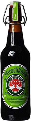 Hirschkuss 38% 0,5l Schnackelverschlussflasche