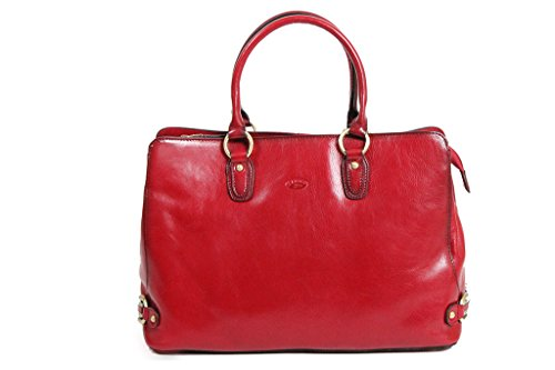 Katana K82618 Neck Bag Cowhide Shopping Red CTxFYq7