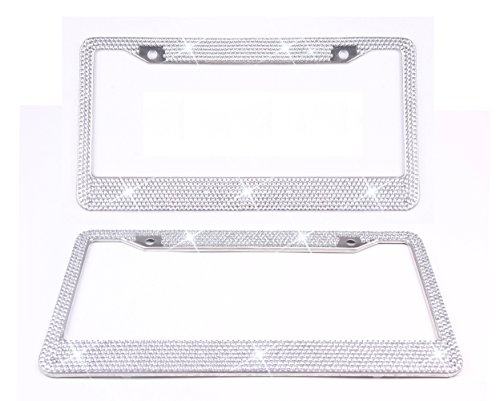 Tokept Bling Rhinestones License Plate product image