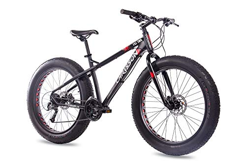 freins /à disque Noir mat 26/Fat Bike VTT V/élo chrisson Fat Two avec 27/vitesses Shimano Alivio//Acera /& Shimano Hydr