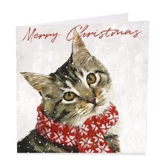 ab-3126 Art Beat Charity Christmas Cards /venduto in supporto dei rifugiati/ /Confezione da 6/carte/ / /Finitura glitterata /Ollie/