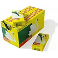 Swan 600 Extra Slim Filter 5 Packs X 120 Tips, Paper, Yellow, 4 x 4 x 2 cm