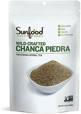 Sunfood Superfoods Chanca Piedra Tea Loose-Leaf 3.5 oz Bag