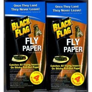 Black Flag Fly Paper - 2 Packs