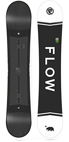 Flow 2018 Merc Black All Mountain Snowboard Men's