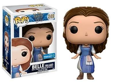 Pop! Disney Beauty and the Beast (2017) Vinyl Figure Belle (Village) #249 Walmart Exclusive