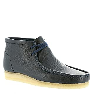 Clarks Men's Wallabee Boot, Navy Tumbled Leather Boot, Size 11.5 (B01JM4F42S) | Amazon price tracker / tracking, Amazon price history charts, Amazon price watches, Amazon price drop alerts