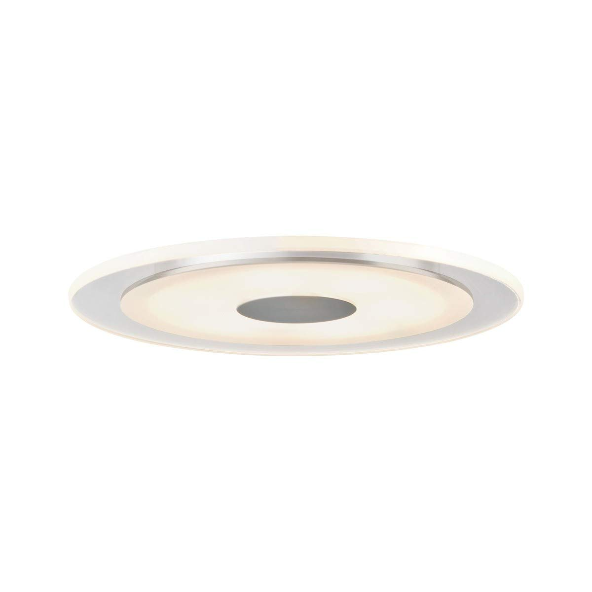 Paulmann 927.36 Premium ABL Set Whirl rund rund rund dimmbar LED 1x6W 150mm Alu gedreht Satin 92736 Spot Einbaustrahler Einbauleuchte db6538
