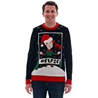 Blueberi Boulevard Ugly Christmas Mens Sweater (Multi Color)