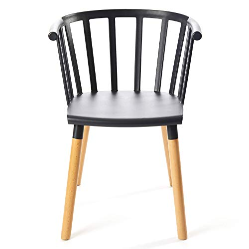 Kvell Kaptain Dining Chair, Mysterious Black