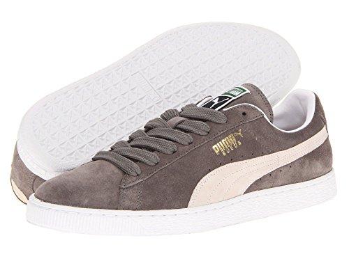 [PUMA(プーマ)] メンズランニングシューズ?スニーカー?靴 Suede Classic Steeple Gray/White Men's 11.5 (29.5cm) Medium
