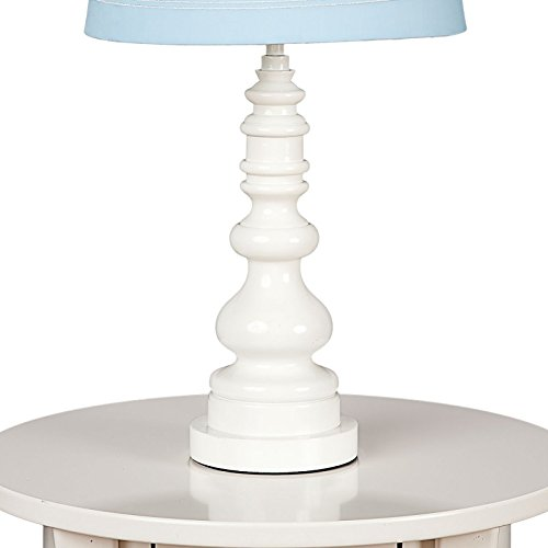 Lolli Living Lamp Base  White Spindle