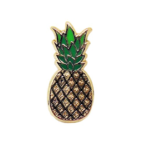 PinMaze Collections Emoji Pineapple Theme Enamel Pin Set (Pineapple)