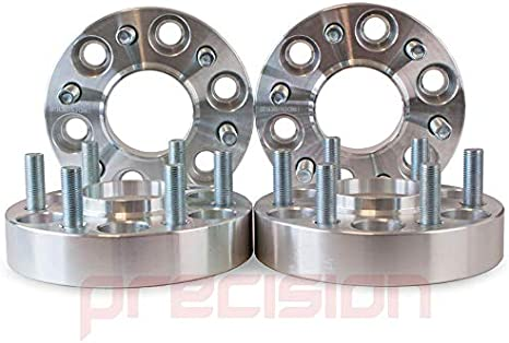 PN.SFP-2PHS16111 D40 Precision 1 Pair of 30mm Bolt-On Wheel Spacers with Studs for Ǹissan Navara