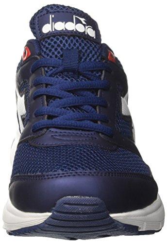 Chaussures Homme de Bianco Bleu Bleu Shape Diadora Blu Running 9 TwqxEag6