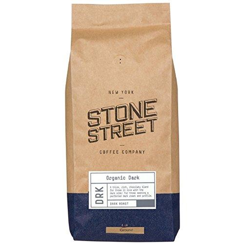 ORGANIC DARK ROAST GROUND COFFEE | 2 LB Bag | Fair Trade & Rain Forest RFA Certified | Full-Body, Bold, Rich Taste |100% Arabica Origin by Stone Street Coffee (Image #7)