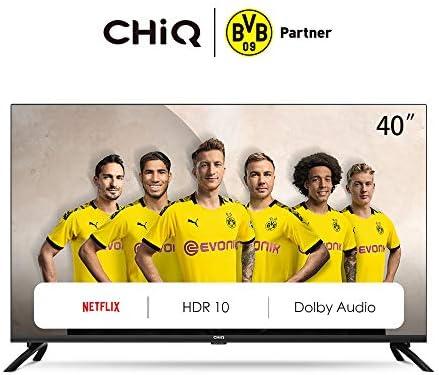 CHiQ Televisor Smart TV LED 40 Pulgadas FHD, HDR, WiFi, Bluetooth ...