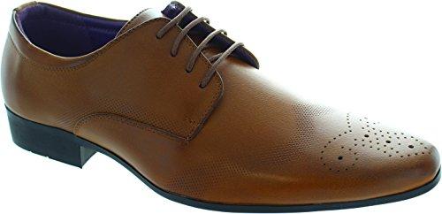 Charles Southwell  Crompton, Chaussures de ville à lacets pour homme marron marron