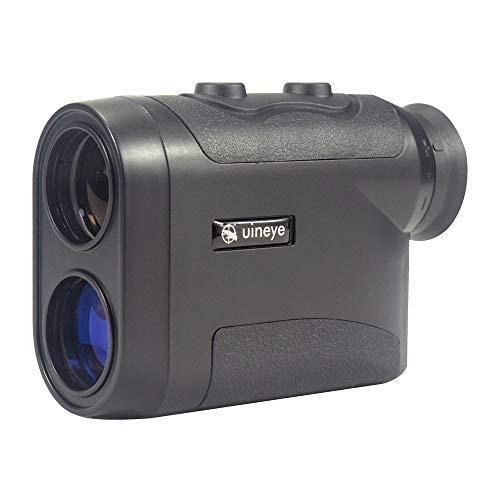 Uineye Laser Rangefinder - Range : 5-1600 Yards, 0.33 Yard Accuracy, Golf Rangefinder with Height, Angle, Horizontal Distance Measurement Perfect for Hunting, Golf, Engineering Survey (Black)