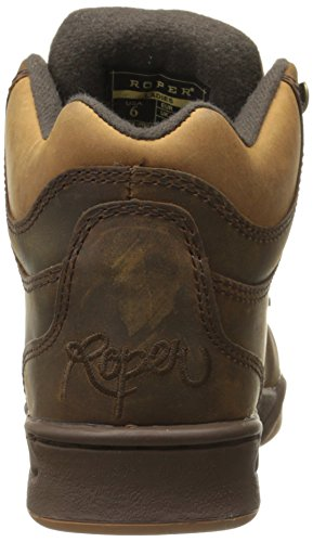 Western Horseshoe Boot Kiltie Women's Roper Chocolate xzfTn