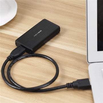 1 x 3.5 pairs of 2R audio cable MITUHAKI Acasis FA-2283 mSATA to USB 3.0 SSD black HDD Enclosure Case Drives and Storage HDD SSD Enclosures