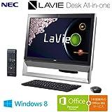 日本電気 LaVie Desk All-in-one - DA370/AAB ファインブラック PC-DA370AAB
