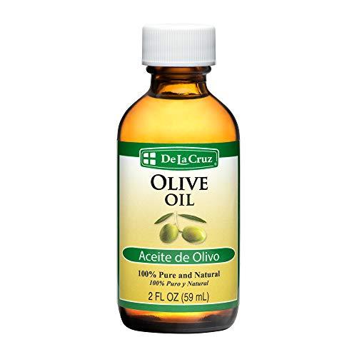 Image of De La Cruz Pure Olive Oil, Non-GMO, Bottled in USA, 2 FL. OZ.