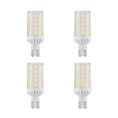 Makergroup T5 T10 Wedge Base 921 912 12V LED Light Bulbs 4W Cool White 6000K for RV Camper Travel Tailer Boat Marine Lights and Outdoor Landscape Deck Stair Step Path Lights 4-Pack: Automotive