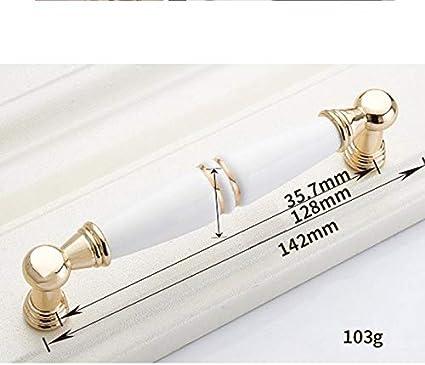128 mm cer/ámica kentop Muebles Cer/ámica arco Fahrradgriffe Botones Muebles Tiradores Tirador para muebles armario Tiradores Armario Mango dorado