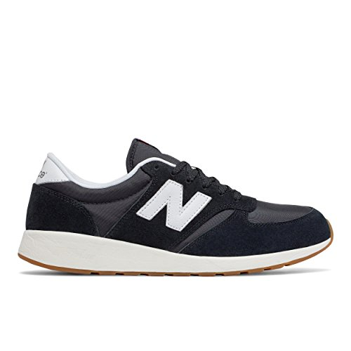 New Balance - Zapatillas de Piel para hombre negro Bianco 43.0