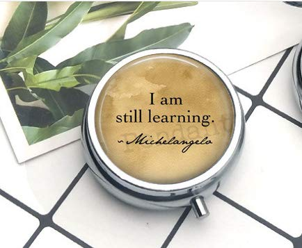 BAB Michelangelo Cita I Am Still Learning - Regalo para ...
