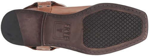 Frye Mens Smith Sele Motorcykel Boot Tan