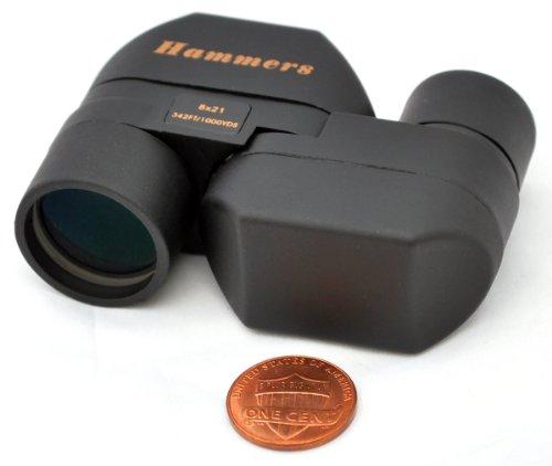 Hammers Mini Pocket Size Monocular Spotting Scope 8x21 Spy G