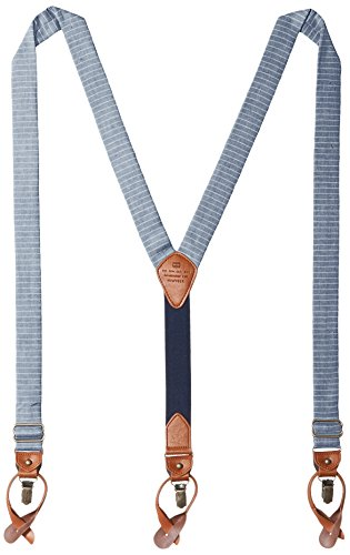 Tommy Hilfiger Men's 30mm Horizon Stripe Suspender