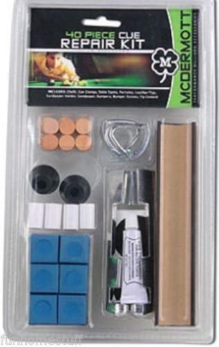 McDermott marca 40 piezas mesa de billar billar cue stick kit de reparación de punta: Amazon.es: Deportes y aire libre