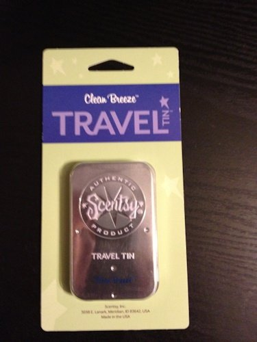 Clean Breeze Scentsy Travel Tin (Scentsy Wax Clean Breeze compare prices)