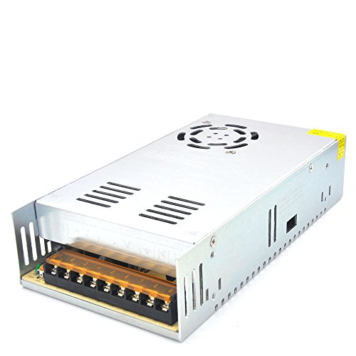 Padarsey DC 24V 15A 360W Power Supply Universal Regulated Switching Transformer Adapter Driver 110V/220V AC Input for LED Strip CCTV Radio Computer Project by Padarsey (Image #7)