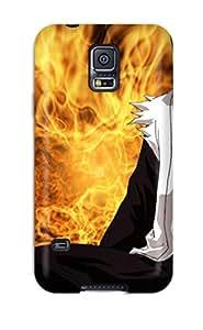 New HhZgSKg5898hpLUq Zaraki Kenpachi Bleach Tpu Cover Case For Galaxy S5