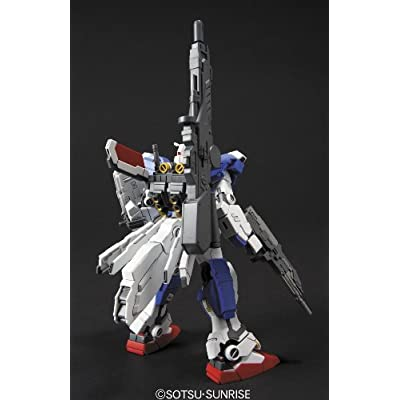 Bandai BAN159943 1/144#98 FA-78-3 Full Armor Gundam 7th: Toys & Games