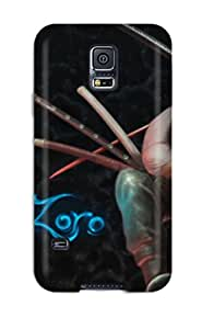 Khd-3045qfLjOnIH Snap On Case Cover Skin For Galaxy S5(zoro)