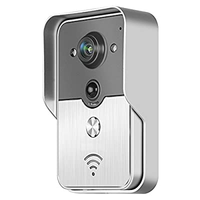 Walsoon DB508 Wifi video door phone doorbell Wireless Intercom Support IOS Android for iPad Smart Phone Tablet