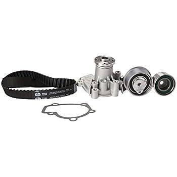 Amazon com: Gates TCKWP284 Engine Timing Belt Kit with Water