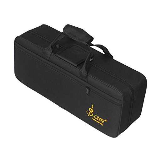 MagiDeal Durable Oxford Fabric Trumpet Gig Bag Soft Storage Case Box Container for Trumpeter Black by non-brand