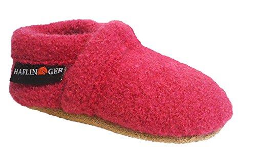 Haflinger Hausschuhe Babyschuhe Krabbelschuhe Schurwolle pink